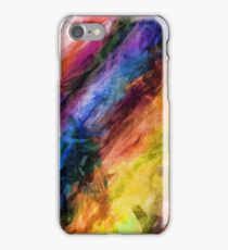 Feather Boas Abstract iPhone Case/Skin