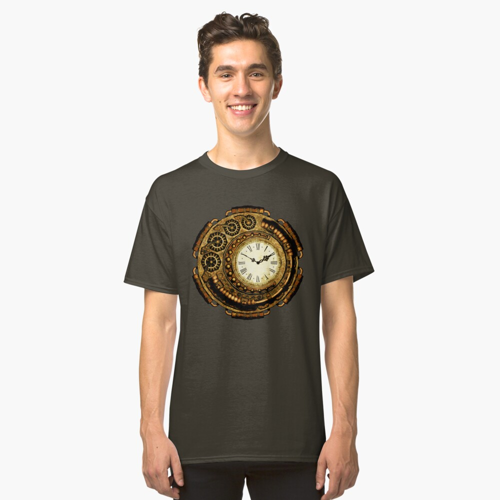 Steampunk Time Machine Classic T-Shirt
