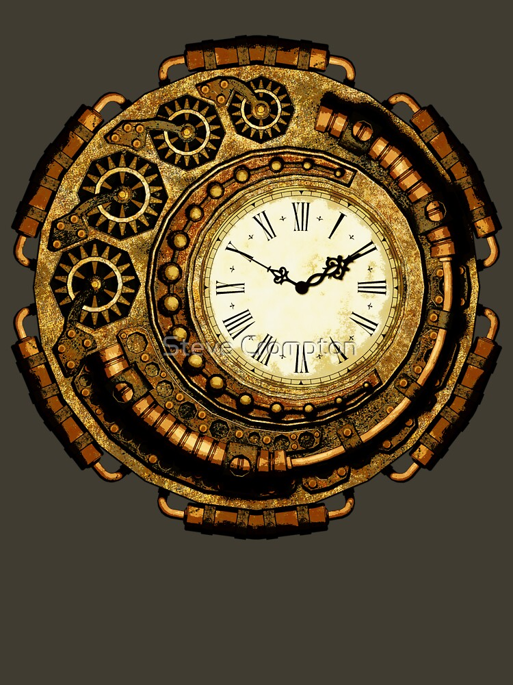 Steampunk Time Machine by SC001
