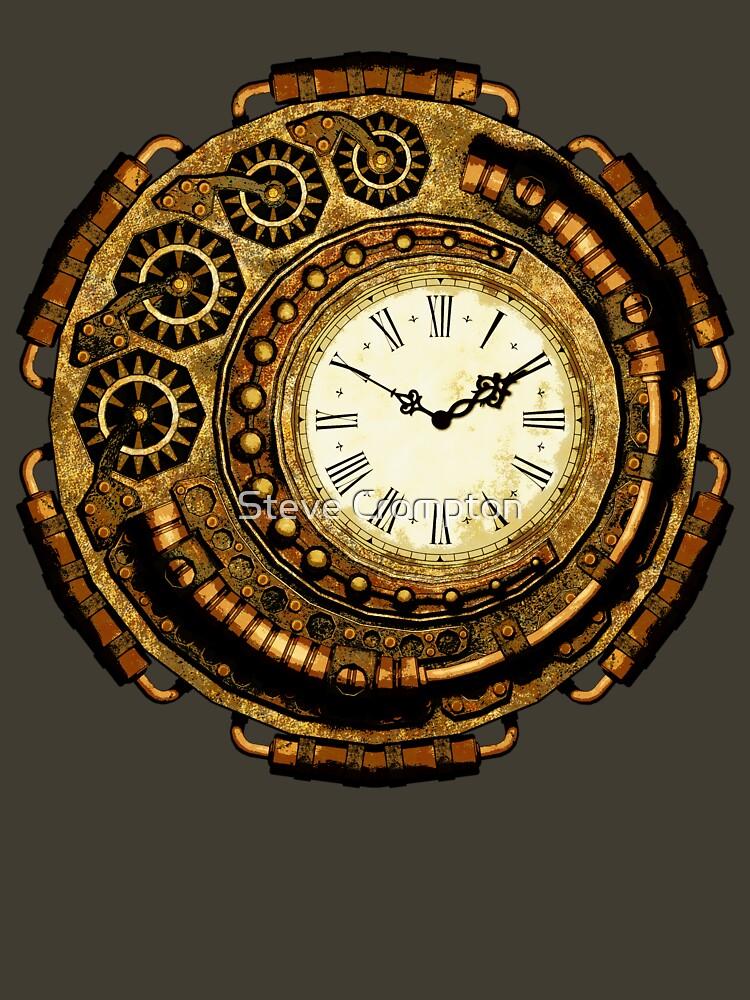 Steampunk Time Machine by SC001