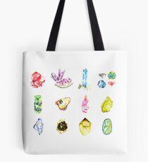 Watercolor Birthstones Tote Bag