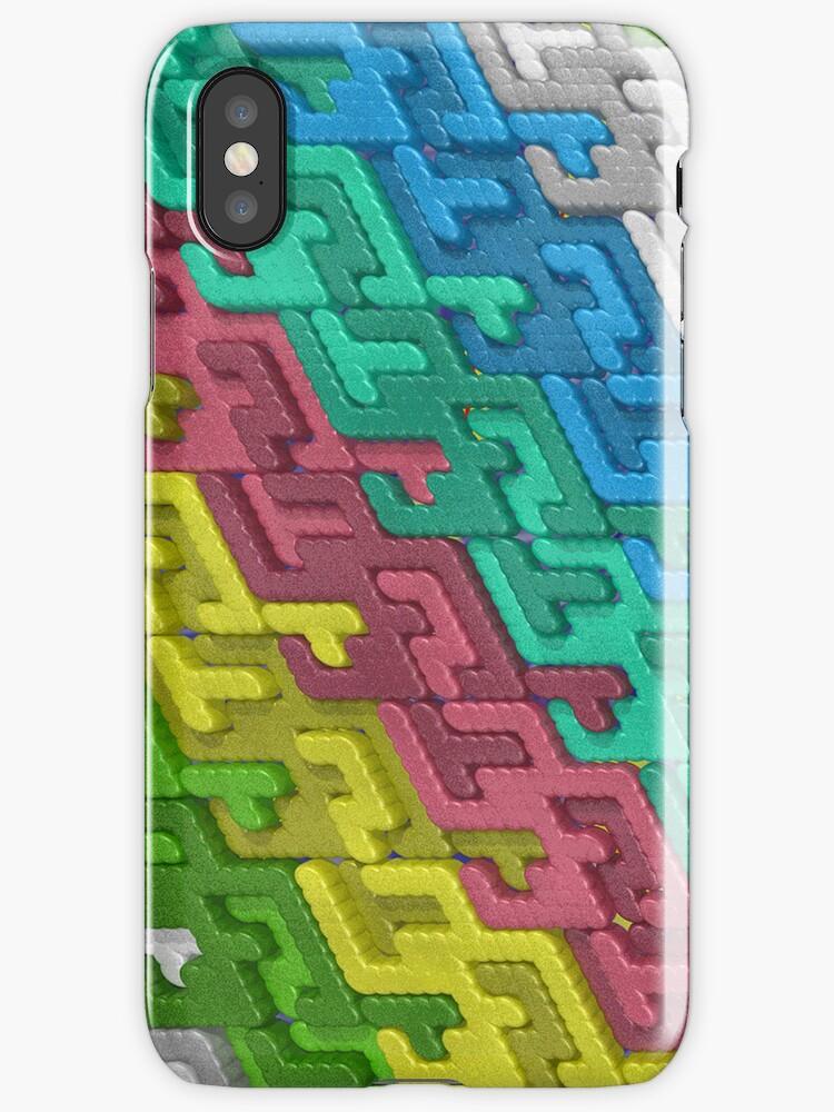 Colorful Interlocks by pjwuebker