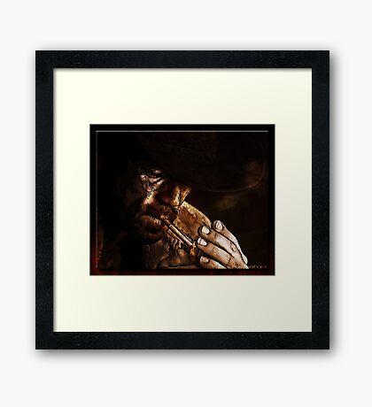 The Wrangler Framed Print