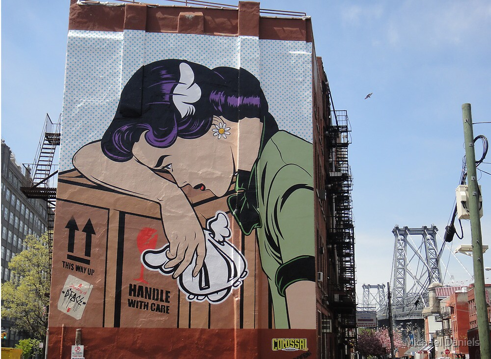 D*Face, Brooklyn by Michael Daniels