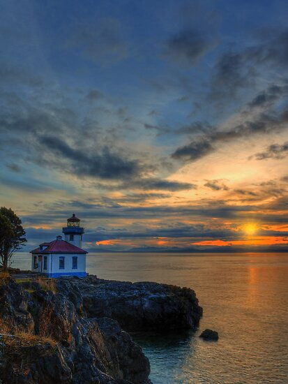 San Juan Sunset by Dan Mihai