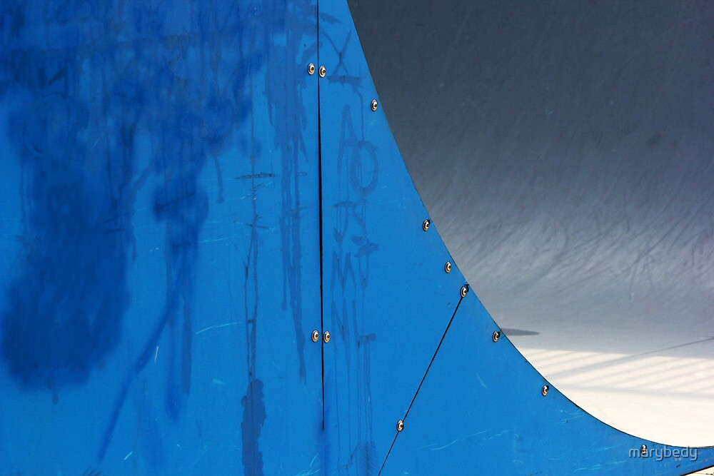 Half Pipe Abstract 1 by marybedy