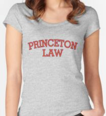 Princeton Law Women's Fitted Scoop T-Shirt