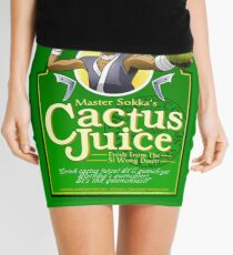 Master Sokka's Cactus Juice Mini Skirt