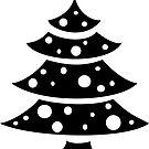Christmas tree by LiliFRobinson