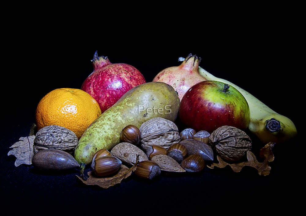 Fruit and Nuts by PeteS