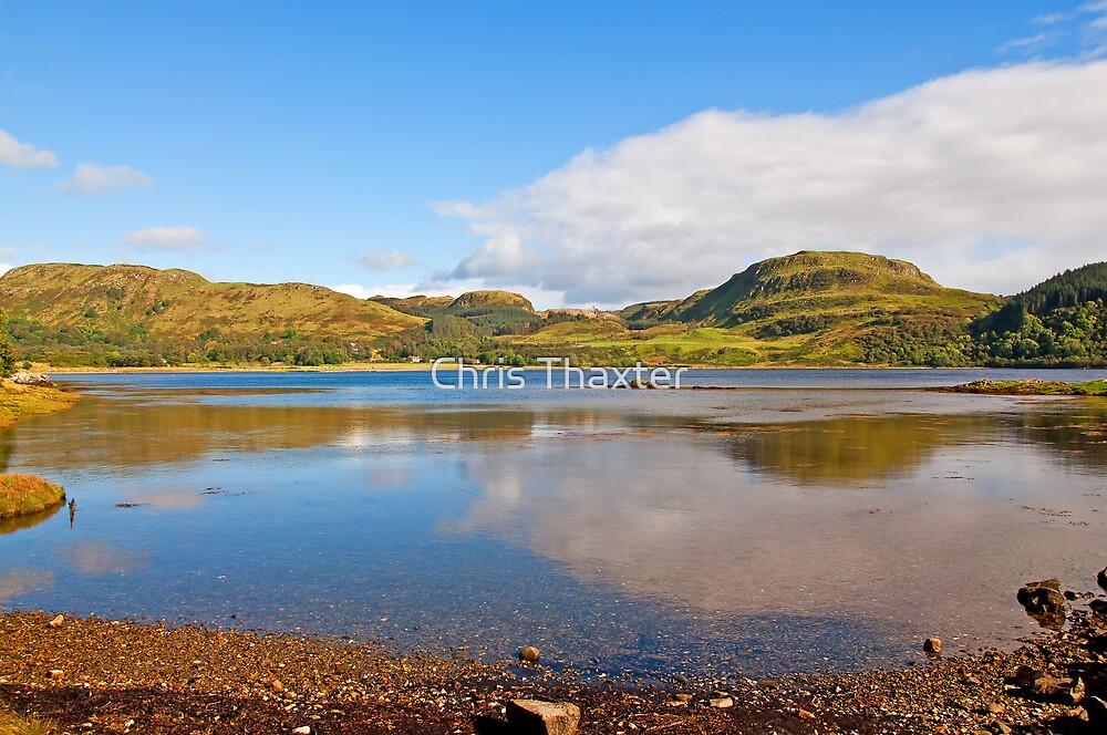 Loch Craignish Argyll Scotland by Chris Thaxter