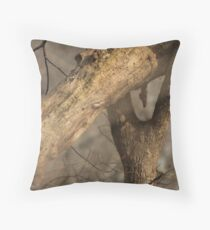 Tree Mating Caught in the Act Throw Pillow