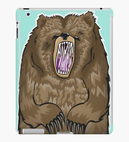 Grizzly iPad Case/Skin