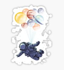 Space Travel Sticker