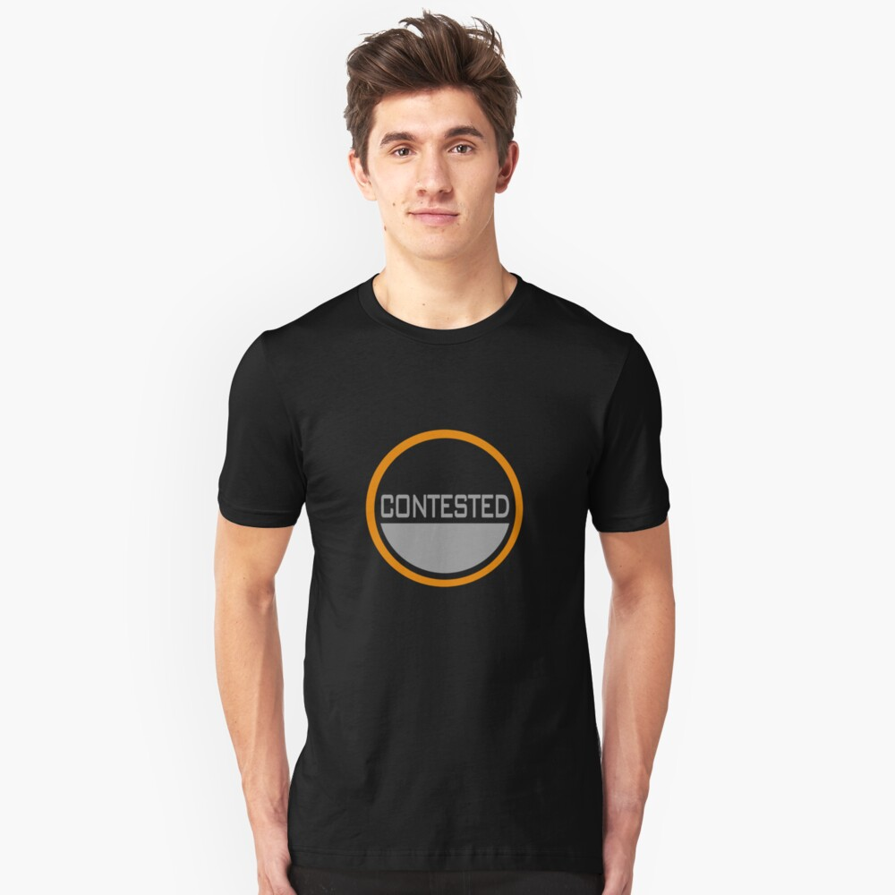 Contested Unisex T-Shirt Front