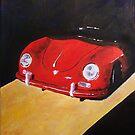 'Speedster Barn Find' 1950's Classic Porsche by Kelly Telfer