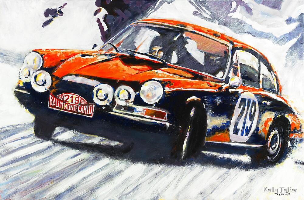 'Monte Carlo Rallye Porsche 911' Porsche by Kelly Telfer
