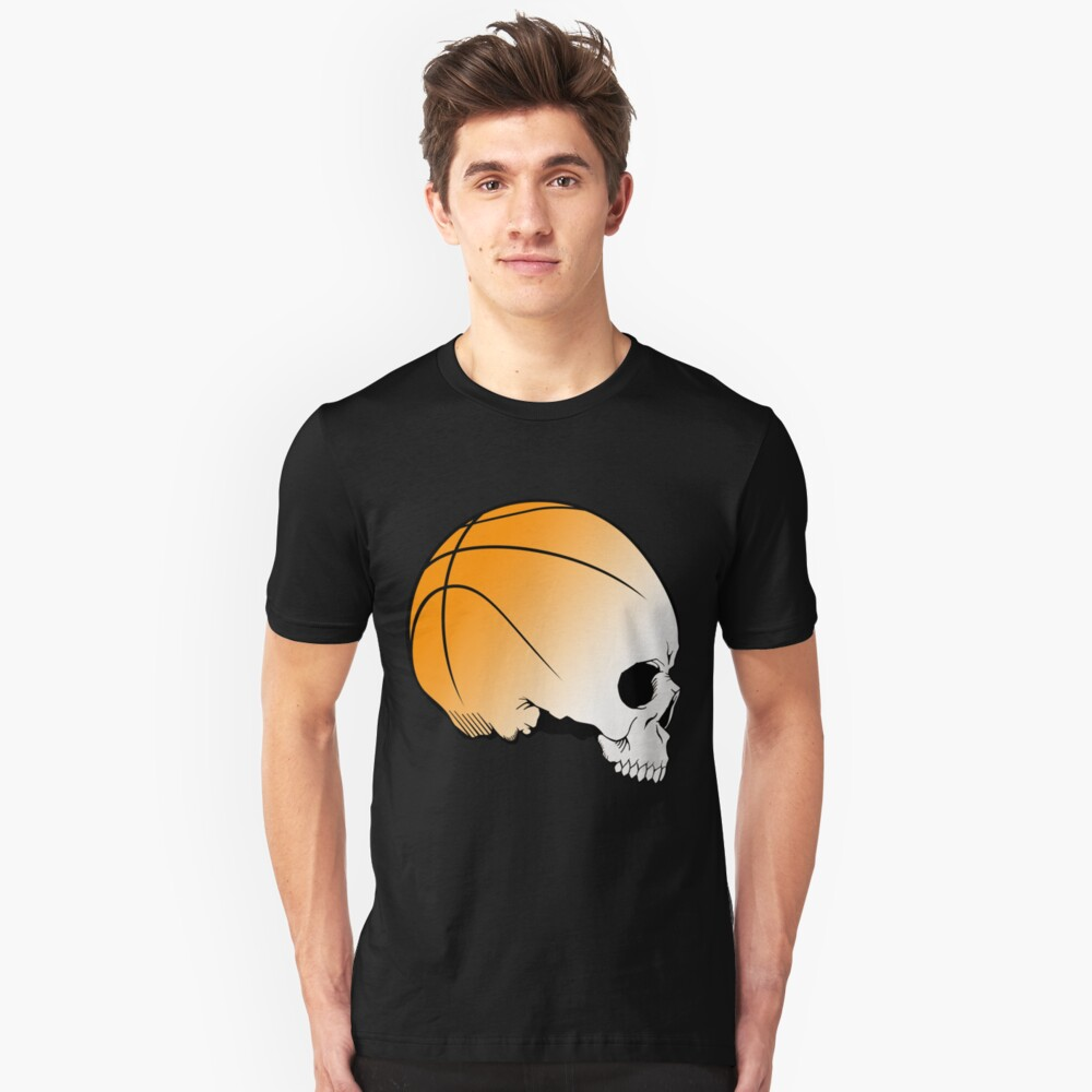 think basket ball side Unisex T-Shirt Front