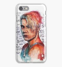 SLICE MY KNEES ( pun intended) iPhone Case/Skin