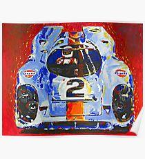 'Porsche Daytona Champion 917' Racing Porsche Poster