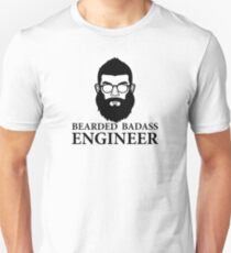 Bearded Badass Engineer T-Shirt