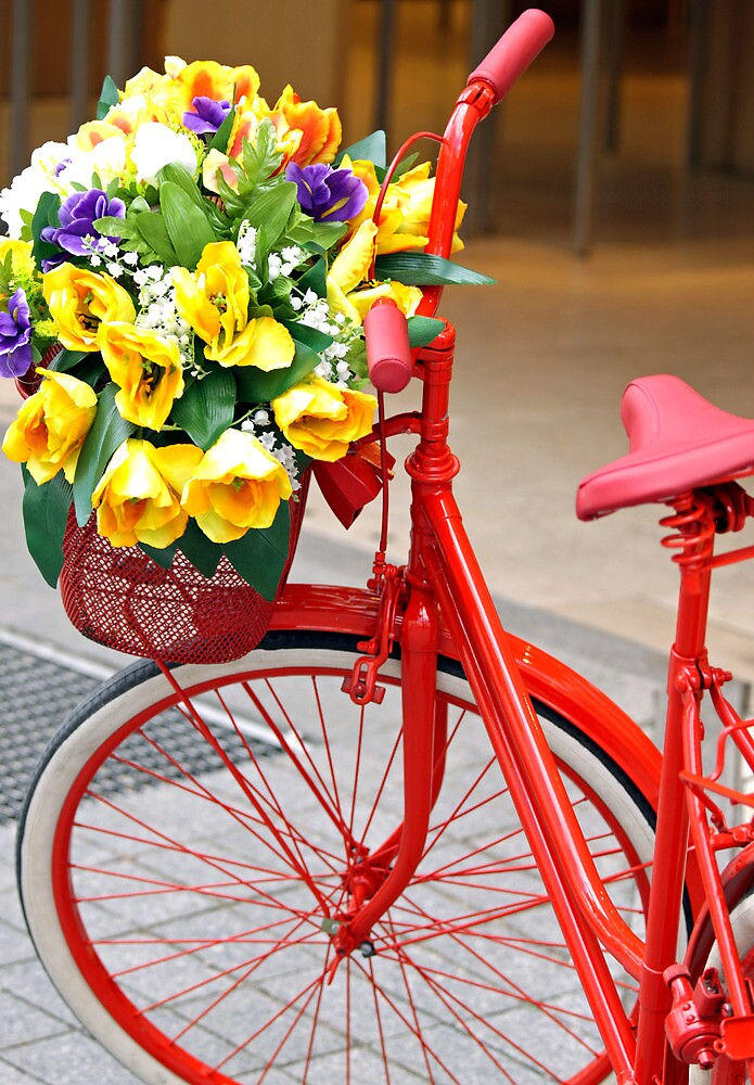 Decorated bicycle by Cebas