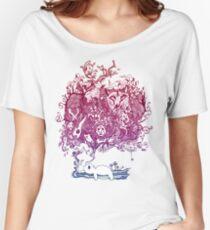 Dreaming Bear  Women's Relaxed Fit T-Shirt