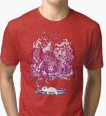 Dreaming Bear  Tri-blend T-Shirt