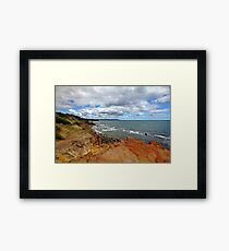 By the Bay Framed Print