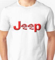 JEEP SKULLS Red T-Shirt
