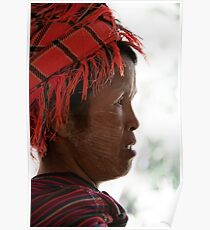 Inle Lake: Hill Tribes Poster
