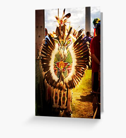 Native Glow Greeting Card