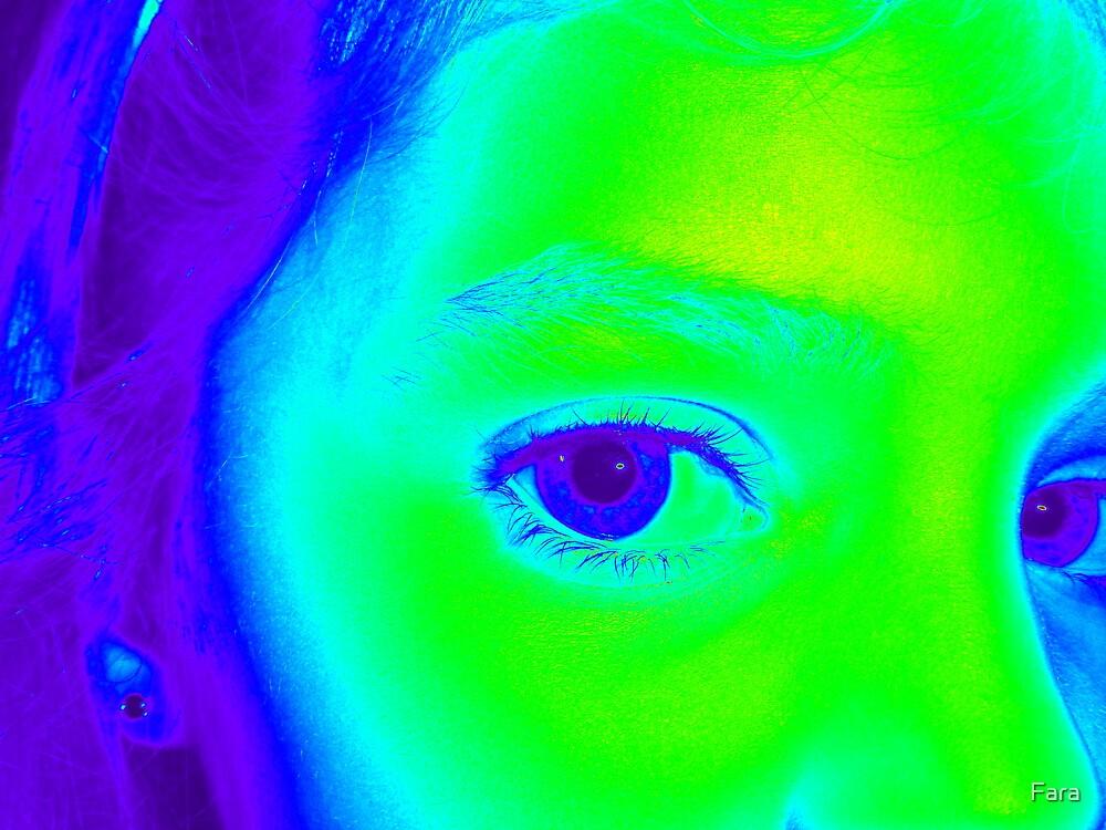Violet Eyes by Fara