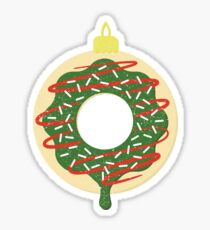 Christmas Doughnut Sticker