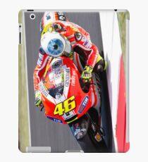 Valentino Rossi in Mugello 2011 iPad Case/Skin