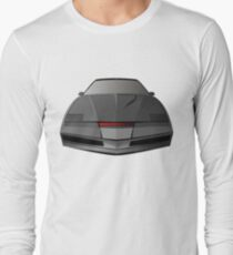 Knight Rider KITT Car  Long Sleeve T-Shirt