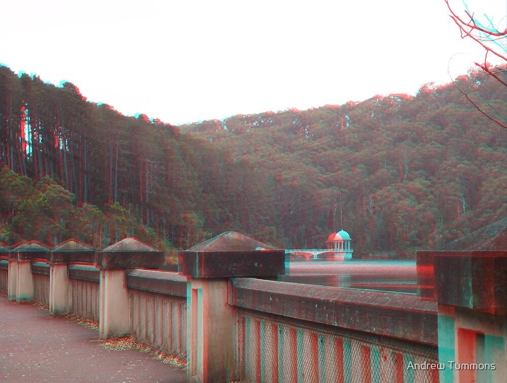 maroondah dam 3D by Andrew Tummons