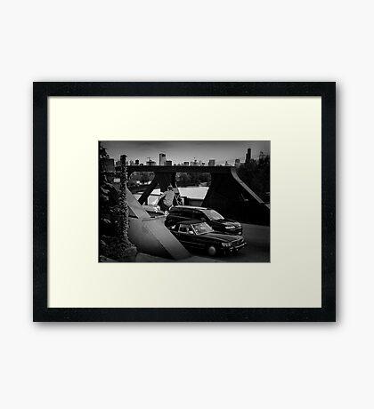 Adam Crew- Ollie - Chicago - Photo Bart Jones Framed Print