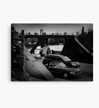 Adam Crew- Ollie - Chicago - Photo Bart Jones Canvas Print