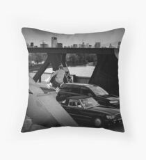 Adam Crew- Ollie - Chicago - Photo Bart Jones Throw Pillow