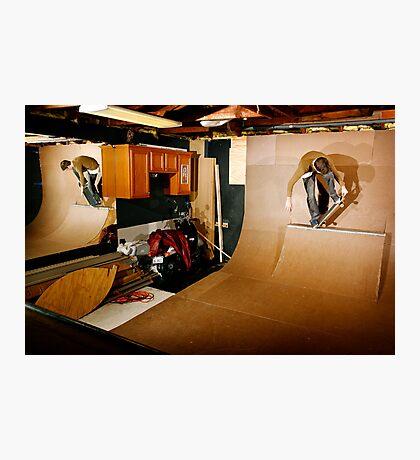 Christopher - Smith Tail Block - Chicago - Photo Bart Jones Photographic Print