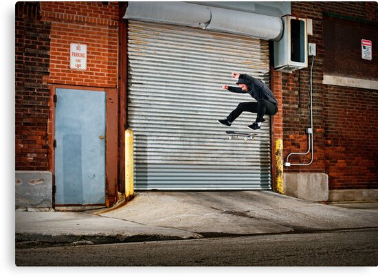 Marty Murawski - Frontside Flip - Chicago - Photo Bart Jones by Reggie Destin Photo Benefit Page