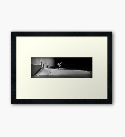 Steve Davenport - Noseblunt - Chicago - Photo Bart Jones Framed Print