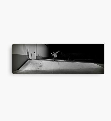 Steve Davenport - Noseblunt - Chicago - Photo Bart Jones Canvas Print