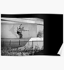 Patrick Melcher - Bluntslide to Fakie - Sacramento - Photo Bart Jones Poster