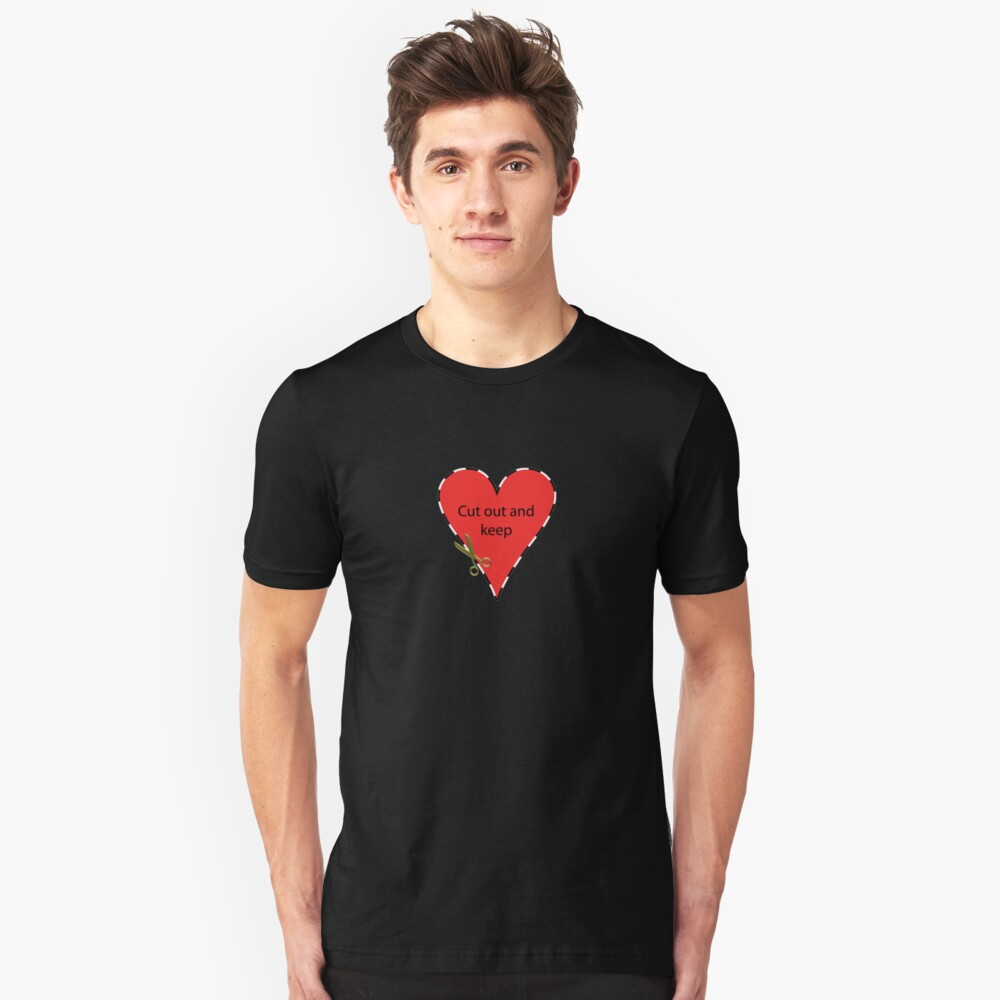 Cut Out and Keep Unisex T-Shirt Front
