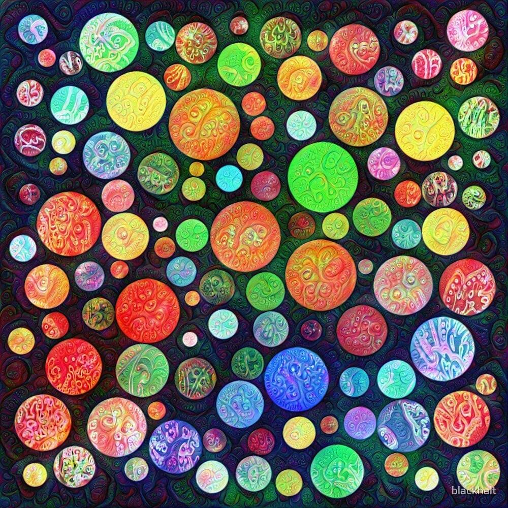 #DeepDream Color Squares Circles Visual Areas 5x5K v1448464170 by blackhalt