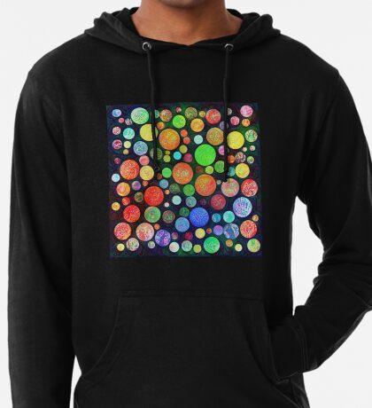 #DeepDream Color Squares Circles Visual Areas 5x5K v1448464170 Lightweight Hoodie