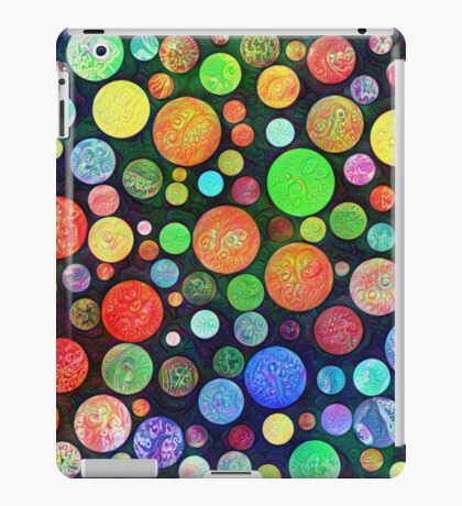 #DeepDream Color Squares Circles Visual Areas 5x5K v1448464170 iPad Case/Skin