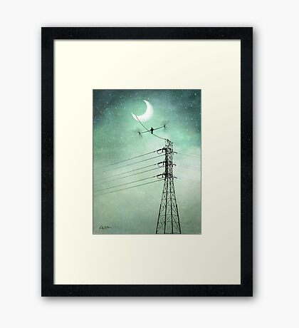 Balance in the Sky Framed Print